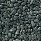 Черное свободное украшение камушка