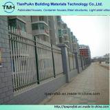 粉の上塗を施してある住宅の安全塀
