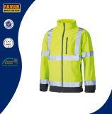 Куртка визави Softshell водоустойчивая Hi с отражательными нашивками