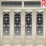 6063 profil en aluminium/en aluminium d'Extrsuion pour le guichet et la porte