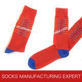 Socke der Männer mit glücklicher Socken-Art (UBM1039)
