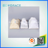 Sacchetti non tessuti del filtro in tessuto della vetroresina della pianta 850GSM del cemento della caldaia