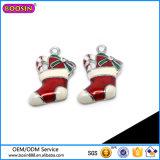 Charme van de Sokken van de Gift van Kerstmis van de Fabriek van Guangzhou de In het groot