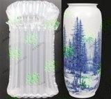 Empaquetado exquisito para los artes de cerámica con el bolso de la columna del aire