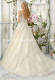 Mori Lee Morilee encaje Elaborar y rebordear el vestido de boda imponente (Sueño-100054)