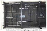 FDA/Ce/ISO anerkannte Funktions-elektrisches justierbares Bett des Krankenhaus-fünf