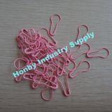Nuove spille di sicurezza della pera di Coiless di colore di colore rosa di bambino di arrivo