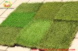 Moquette artificiale poco costosa del tappeto erboso certificata RoHS del Ce dello SGS per il giardino