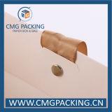 白書のマットのラミネーションの衣類の買物袋(CMG 5月9日)