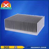 기지국 전송기를 위한 공기 냉각 알루미늄 열 싱크