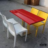 De stevige Eettafel van het Snelle Voedsel Kfc van de Oppervlakte Vierkante