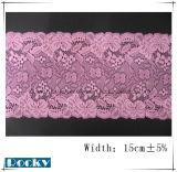 Heiße Verkaufs-Blumen-Spitze-Ordnung für DIY Dekoration-Breite 15cm