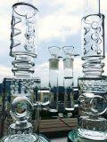 23 tubulação de vidro do favo de mel de Inche K42 Roor 3 e do Percolator do Birdcage, tubulação de água de fumo