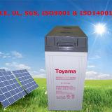 Toyama-Batterie-tiefe Schleife-Batterie für Sonnenkollektor 12V
