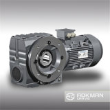 K Series Helical Bevel Gearbox mit Connection Flange