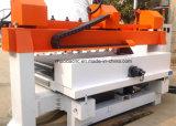 5 máquina de cinzeladura de madeira principal do CNC da linha central 10 simultâneos