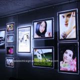 Crystal Slim LED Panel Light Box Acrylic Counter