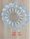 Cinzeiro de vidro Kb-Hn07691 da alta qualidade de cristal redonda