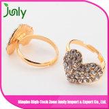 여자를 위한 패션 악세사리 금 형식 다이아몬드 보석 결혼 반지
