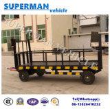 rimorchio a base piatta pratico della barra di traino del carico di trasporto dei bagagli 5t