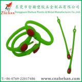 Tapotement-Bracelets de silicones et bracelets faits sur commande de tape pour la promotion