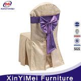 弓が付いているポリエステル椅子カバー(XY47)