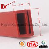 Forneça tiras de selagem de borracha de silicone de boa qualidade