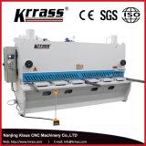 Machine de tonte de massicot hydraulique de commande numérique par ordinateur de QC11k