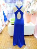 Einfacher Frauen-Sommer-beiläufiges Kleid Ue5051