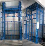 Trilho de guia elétrico estacionário da plataforma hidráulica ao ar livre do elevador da carga de /Indoor