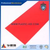 Feuille acrylique colorée du plexiglass PMMA de moulage