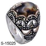 Nieuwe ModelJuwelen 925 van de Manier Echte Zilveren Ring voor de Mens
