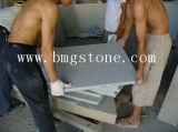 Tuile de granit, brame de granit, granit pavant, escaliers de granit, revêtement de mur en pierre, partie supérieure du comptoir en pierre