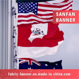 Национальный флаг полиэфира высокого качества для всех стран