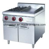Gas Bain Marie with Cabinet (ET-TB)