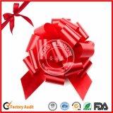 Arco grabado hermoso del tirón de POM-POM para el embalaje del regalo