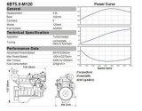 Cumminsの海洋エンジン6BTA5.9-M150