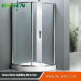 Baracca di alluminio dell'acquazzone del portello scorrevole per la stanza da bagno