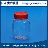 Tarro plástico del animal doméstico para Beaning verde Packaiging