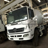 Nudo-Clean-Package Hino-500 Originale-White-Color Concrete Mixer Truck (max 9m3)