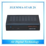 Zgemma-Star 2s Satellite Receiver HD DVB S DVB S2 Twin Tuner Satellite Decoder IPTVのDish無しFTA