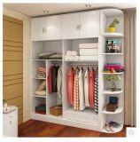 Wardrobe branco da alta qualidade com muitos armazenamentos