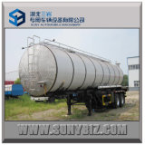 25cubic ~ 35cubic 2axles Stainless Bitumen Tank Semi Trailer