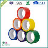 De acryl Zelfklevende Kleurrijke Band van de Verpakking BOPP voor het Verzegelen van het Karton P040