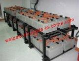 Cremagliera di carico di montaggio della cremagliera della batteria delle cremagliere della batteria di servizio su ordinazione della pagina d'acciaio delle batterie