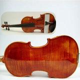 Violino avanzato dell'olio della qualità superiore dell'acero Handmade della fiamma