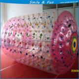 Taille matérielle gonflable 2.2*2.1*1.8m du rouleau TPU1.0mm de Zorb