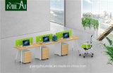 Preiswerte populäre gerade Konstruktionsbüro-Schreibtisch-Büro-Möbel mit dem Befestigungsteil-Bein