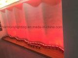 Luz da arruela da parede do diodo emissor de luz dos dispositivos elétricos de iluminação exterior
