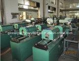 Manguera metal-gas flexible acanalada que forma la máquina